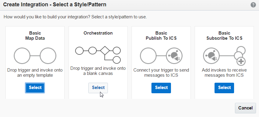 Create Orchestration Pattern